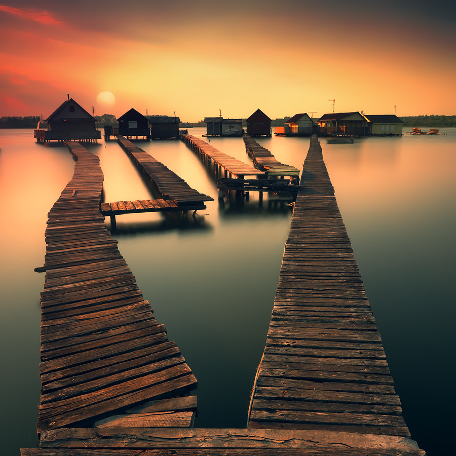 Photograph before the sun goes down II by Adam Dobrovits on 500px