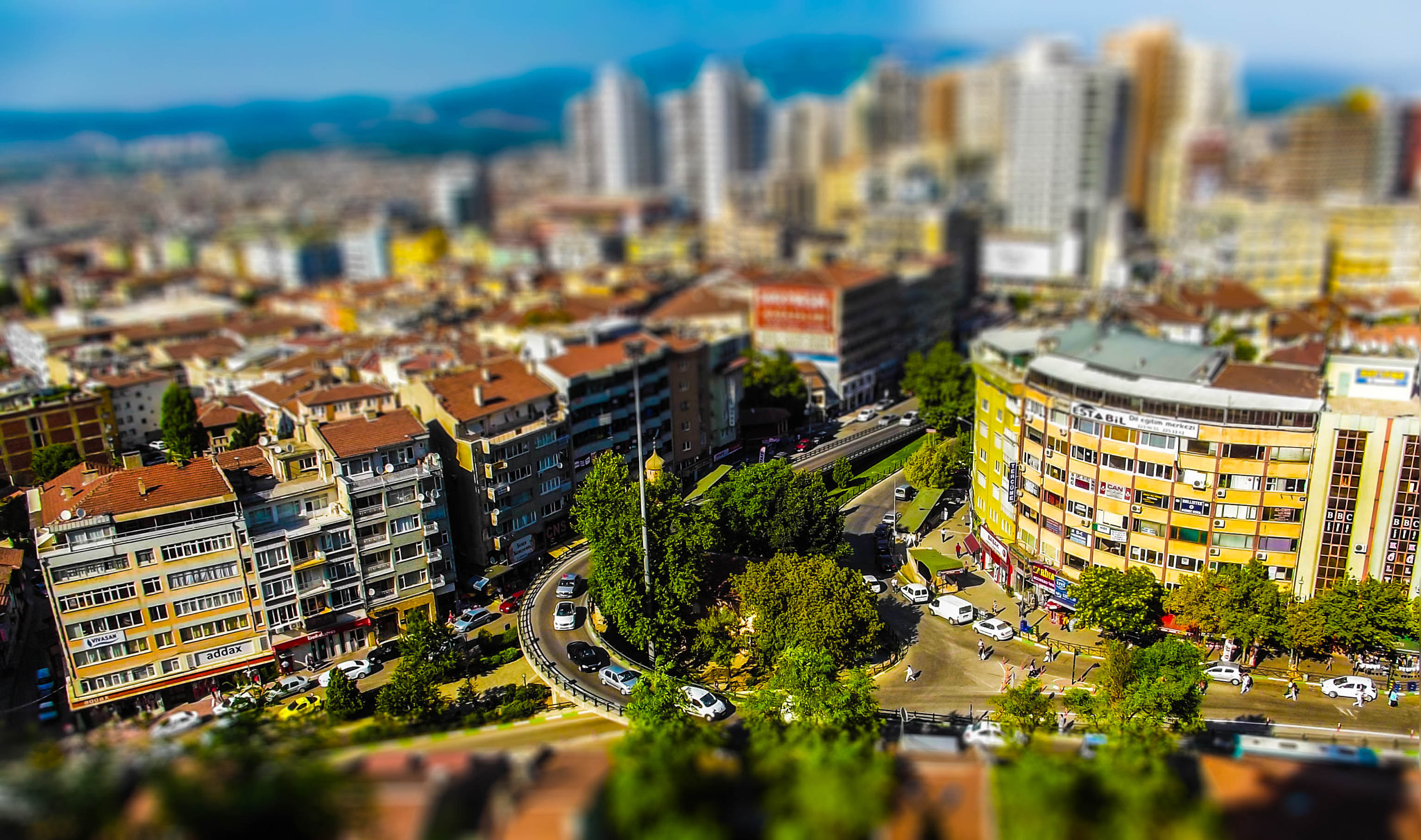 Photograph tilt & shift   by Gökhan Demirci on 500px