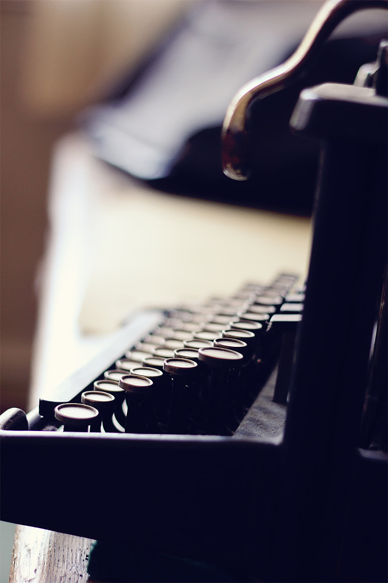Photograph Typewriter by Tobias Ahlin on 500px