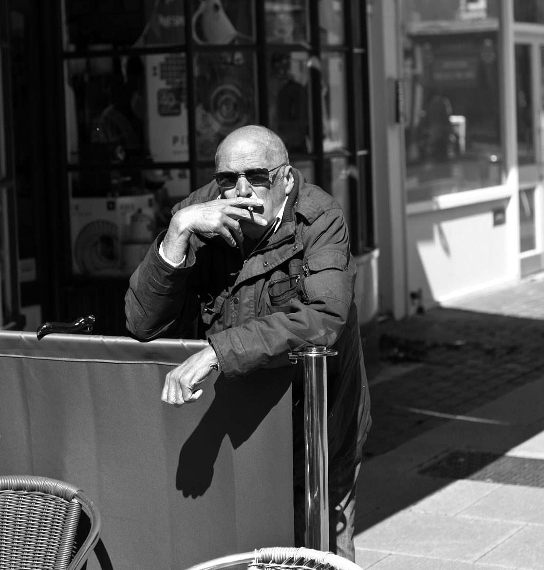 Photograph Smoking Alfresco by Steve Campbell on 500px