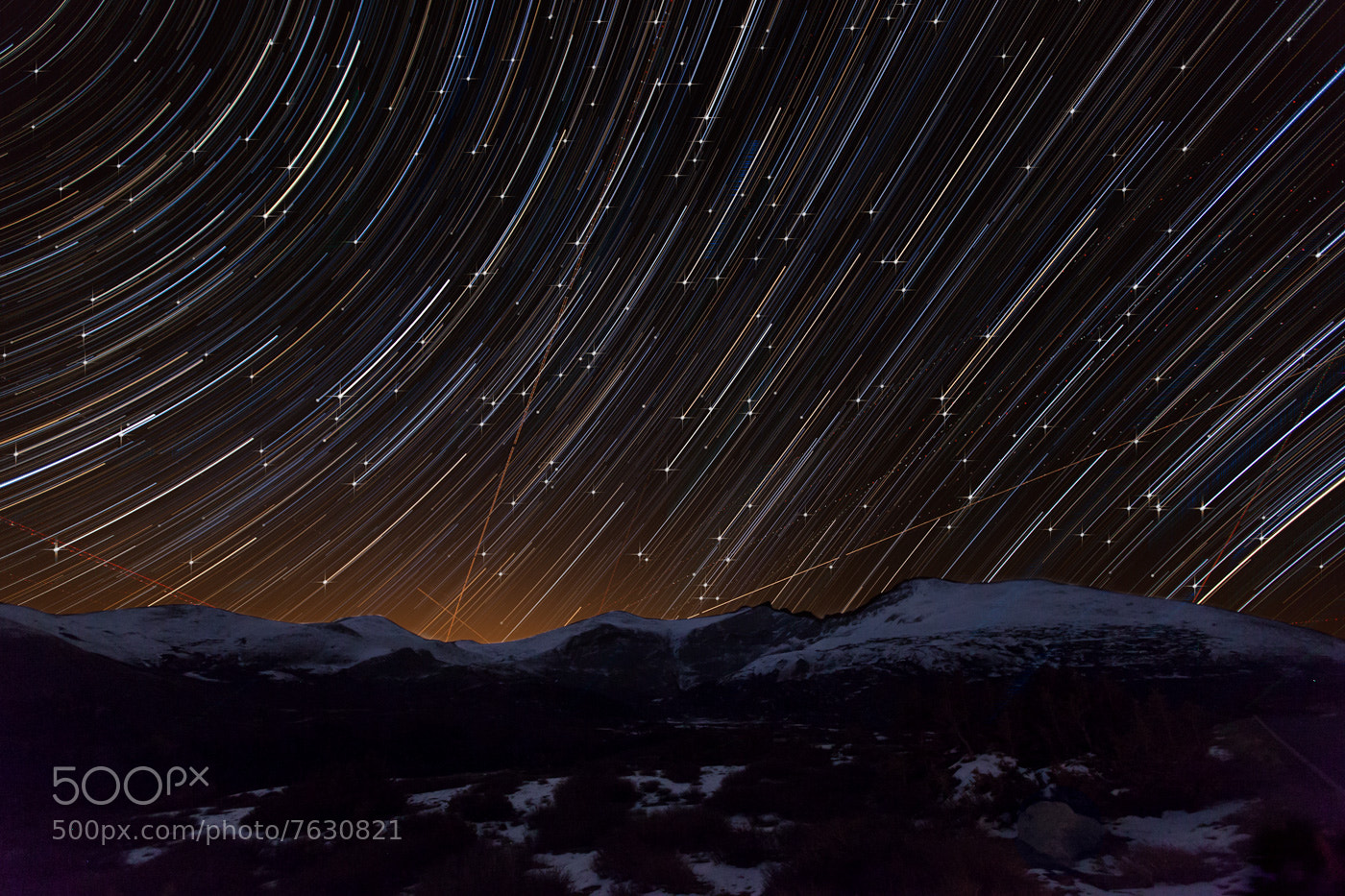 Photograph Night Trails by Richard Steinberger on 500px