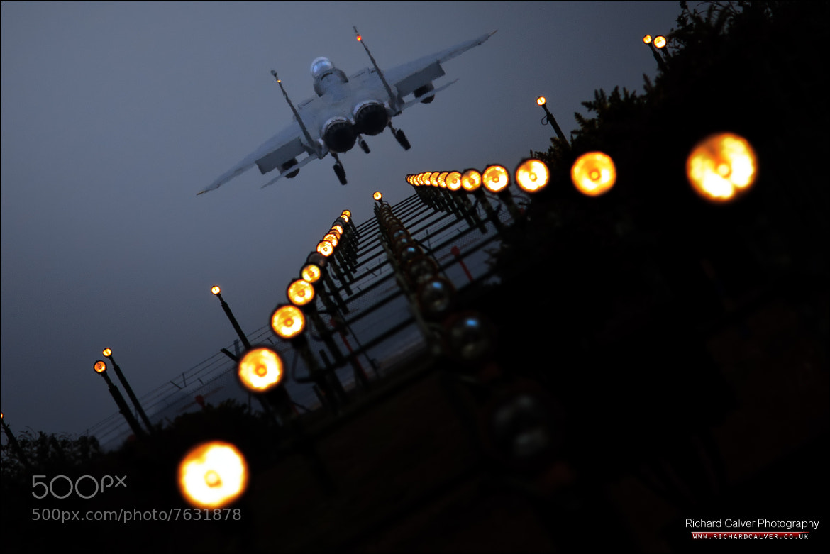 Photograph Turn Up the Lights - McDonnell Douglas Boeing F-15C Eagle at RAF Lakenheath by Richard Calver on 500px