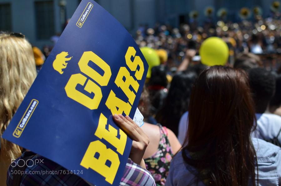 Photograph Go Bears! by Hong Chen on 500px