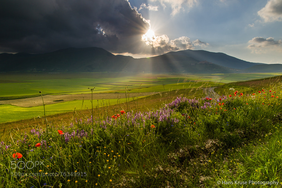 This photo was shot on the day after the Abruzzo Umbria June 2014 photo workshop had ended together with some of the participants who stayed after the workshop for one day.