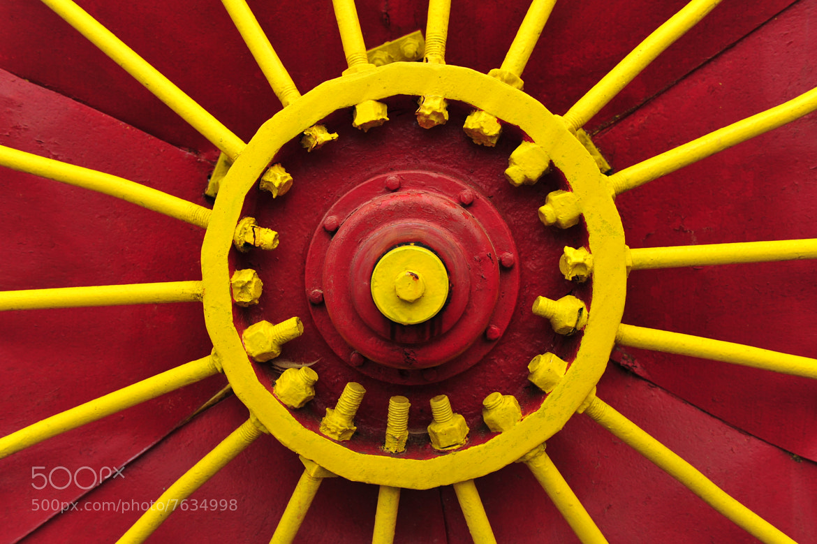 Photograph Red & Yellow Wheel by Jaypee Verdaguer on 500px