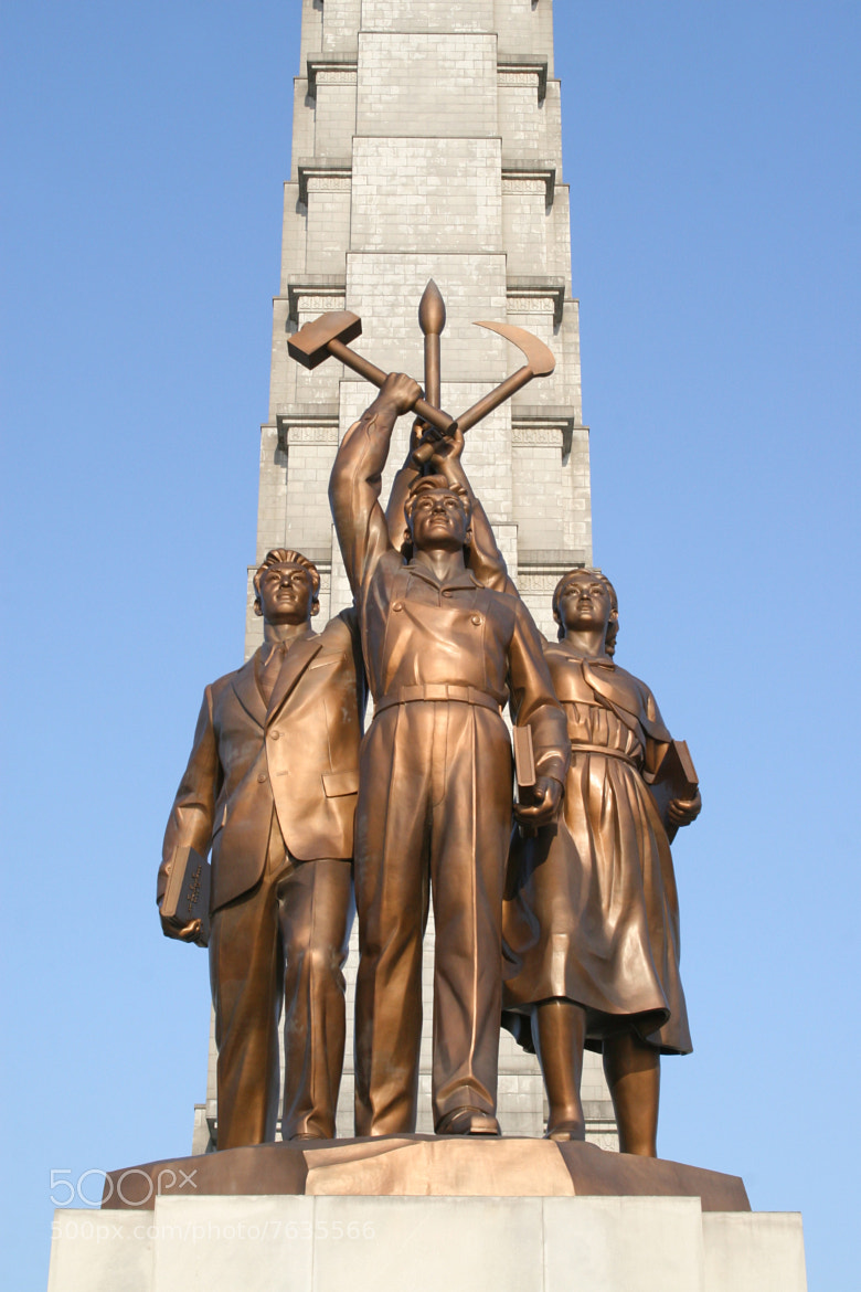 Photograph Workers of Korea Party Monument by Gilad Rom on 500px