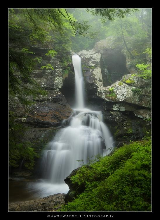 Photograph Upper Kent Falls by Jack Wassell on 500px