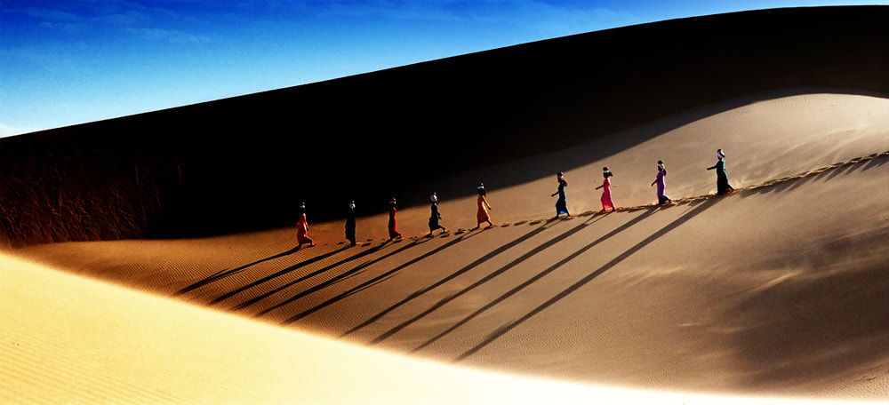 Photograph girls Champa on the sand hill by tuan lionsg on 500px