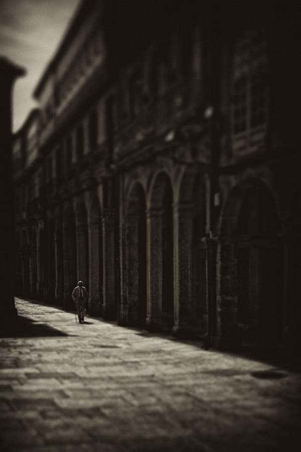Photograph Solitary Old Man by Carlos Gotay on 500px