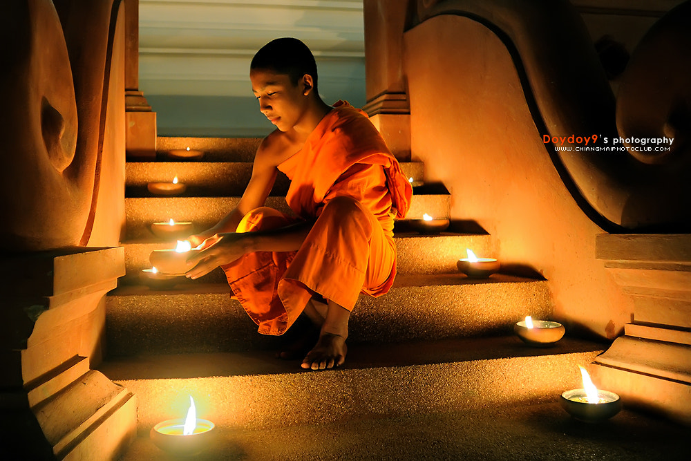 Photograph Candlelight of dharma by Doy Pdamobiz on 500px
