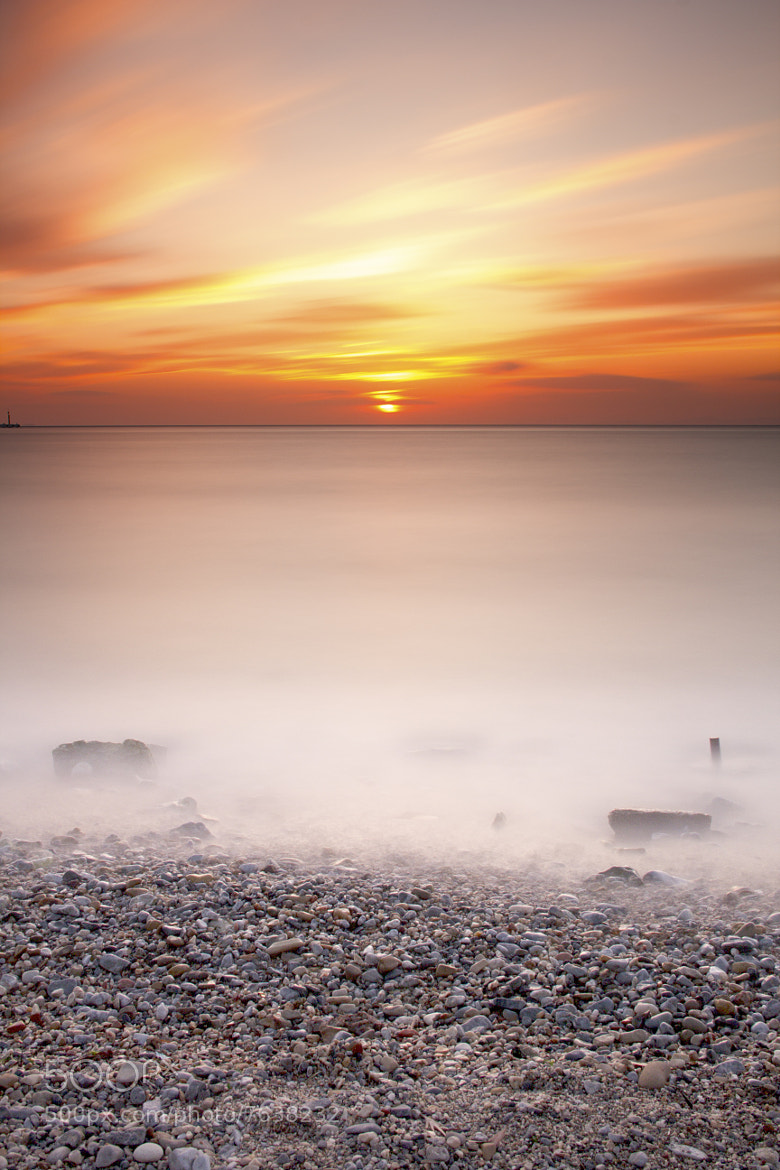 Photograph Longexposure Sunset (180sec.) by Ömür Kahveci on 500px