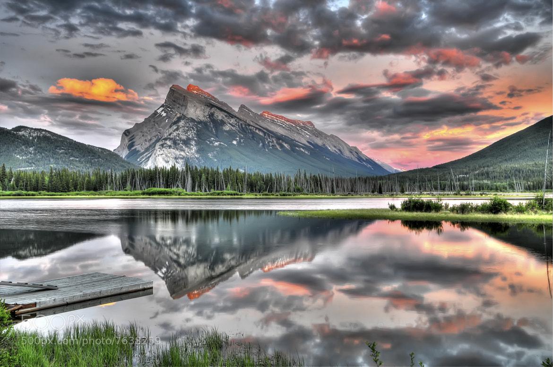 Photograph Vermillion Lake by Hai Chen on 500px