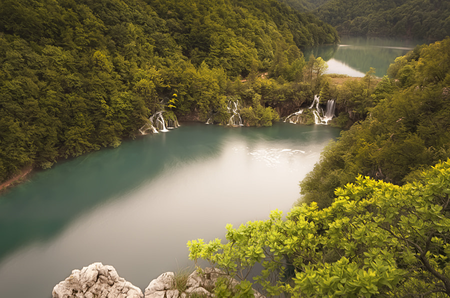 Photograph Milanovac Waterfall, Plitvice by Ivan Prebeg on 500px