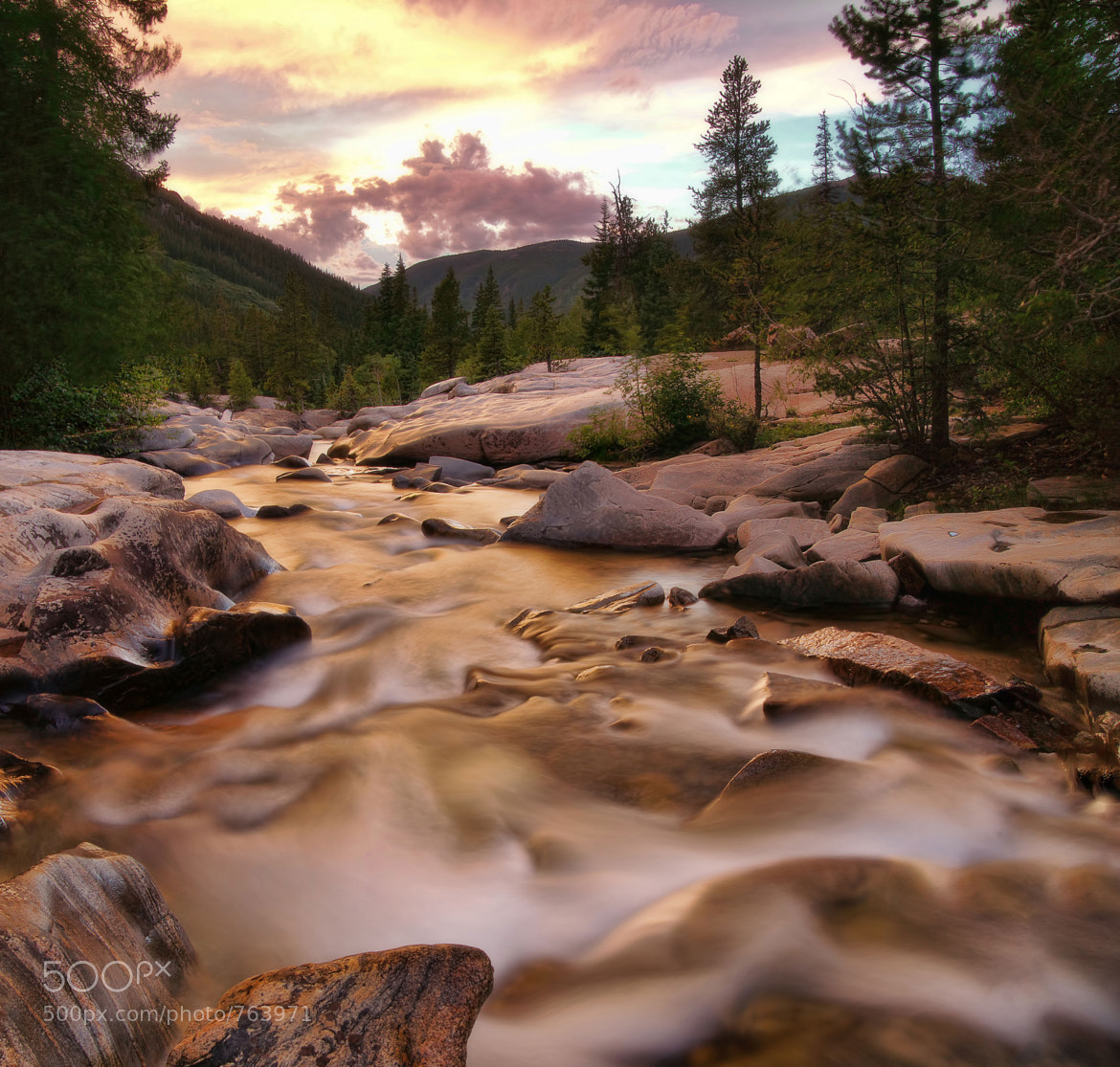 Photograph Aspen Stream by Chad Galloway on 500px