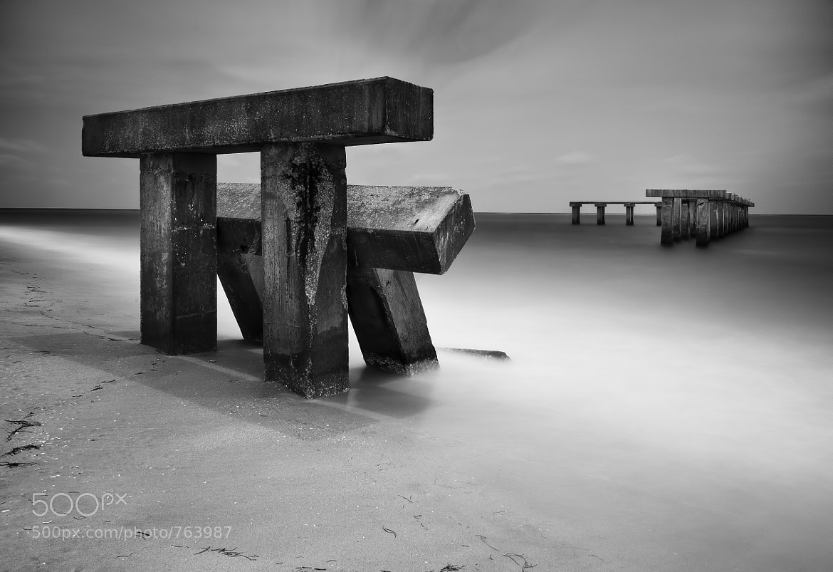 Photograph Fallen Pier by Chad Galloway on 500px