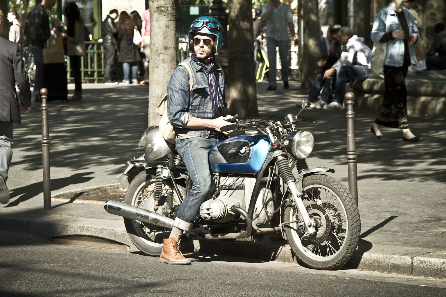 Photograph Fashion biker. by Laurence Penne on 500px