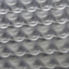 This is a abstract, macro photo of a sheet of metal.