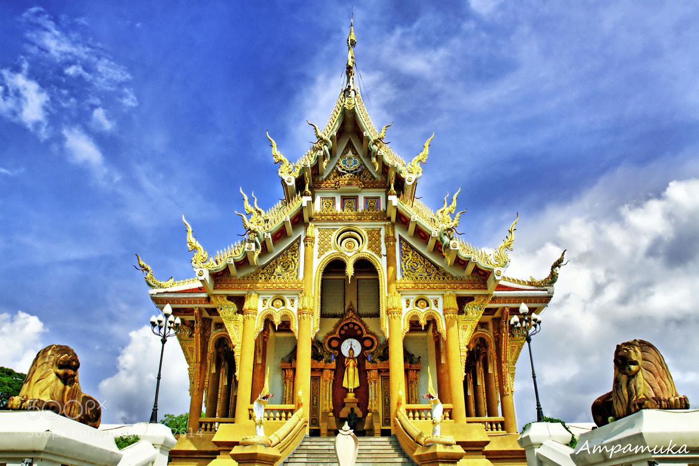 Photograph Sang Arun Temple by Suradej Chuephanich on 500px