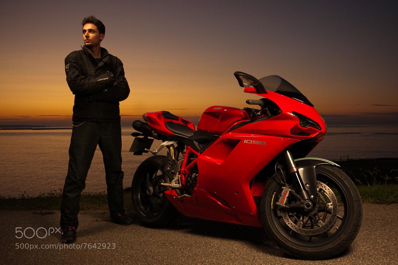 Photograph Jandro . Ducati 1098 by Miguel Prado on 500px