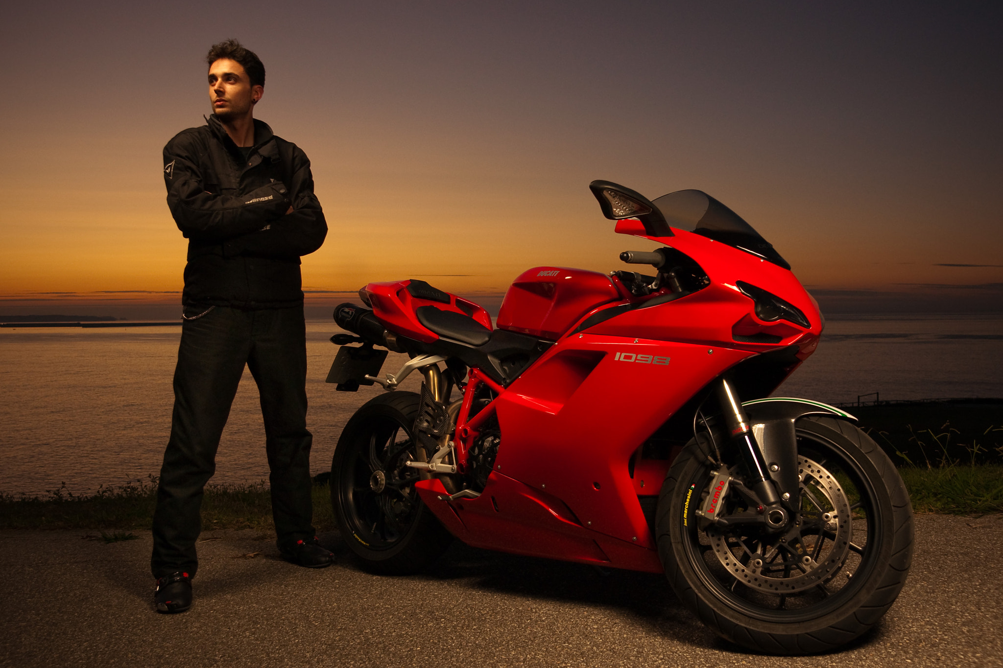 Photograph Jandro . Ducati 1098 by Miguel Prado on 500px