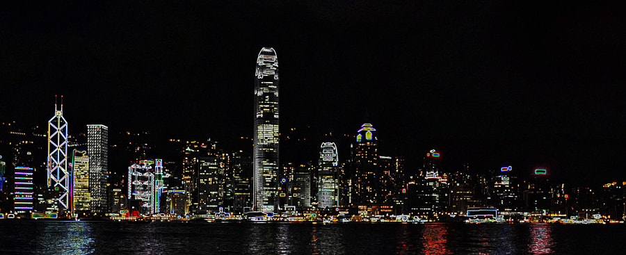 It goes withut saying..this is Hong Kong...nd to me one of the most stunningly beautiful skylines...