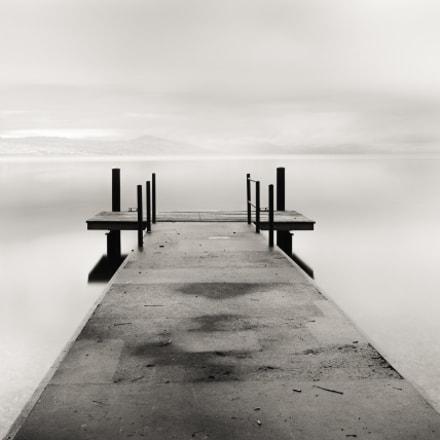 Ponton sur le Lac Leman