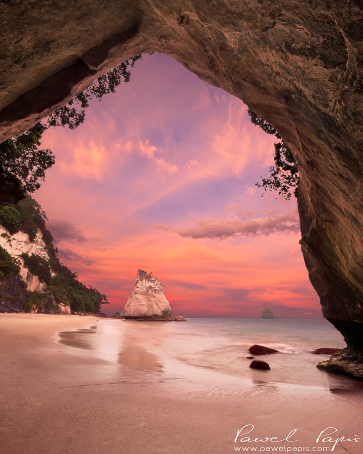 Photograph Cathedral Cove by Pawel Papis on 500px
