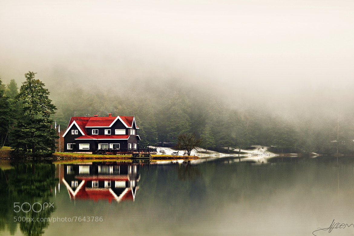 Photograph The Lake, the House and the Fog... by Alp Cem on 500px