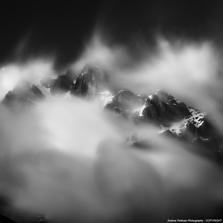 Photograph the power of mountains by Andrea Pettinari on 500px