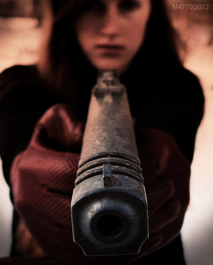 Photograph German Gun Girl. by Majin Montague on 500px