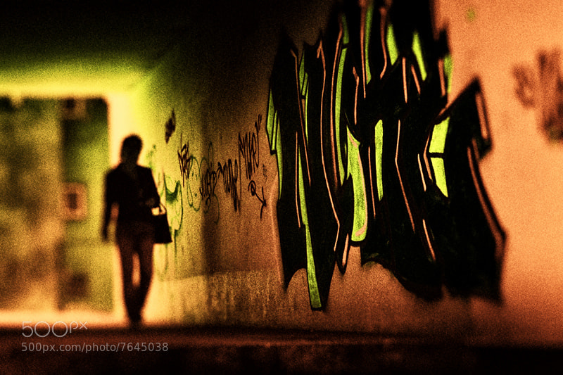 Photograph graffiti by Vladimir Perfanov on 500px