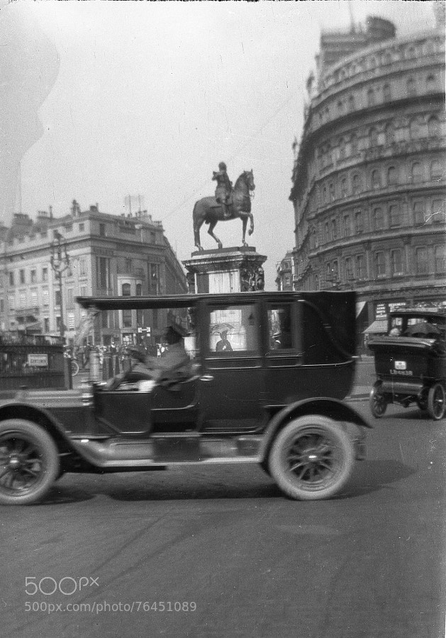 Photograph London 1920's by Century of  Photography on 500px