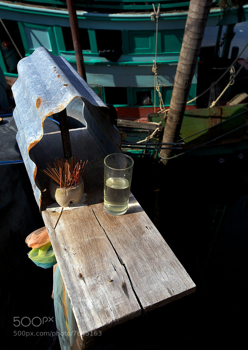 Photograph Home Made Thai Fisherman's Spirit House by Dr. Jeffrey Harper on 500px