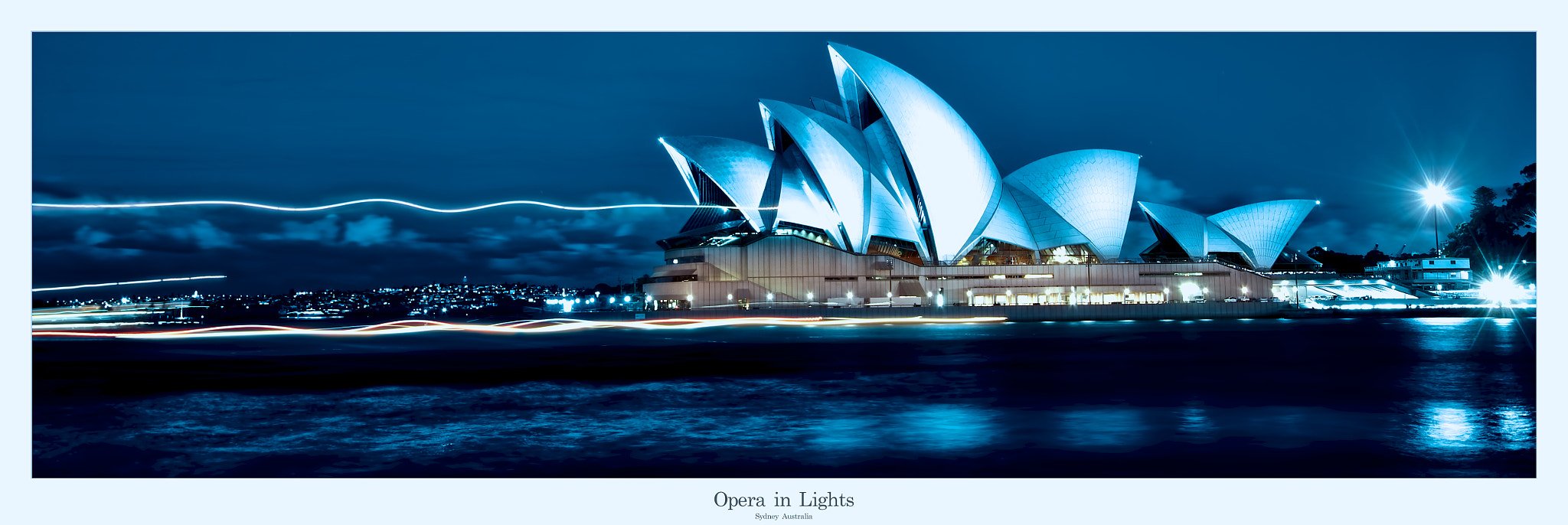 Photograph Opera in Lights by Johny Spencer on 500px