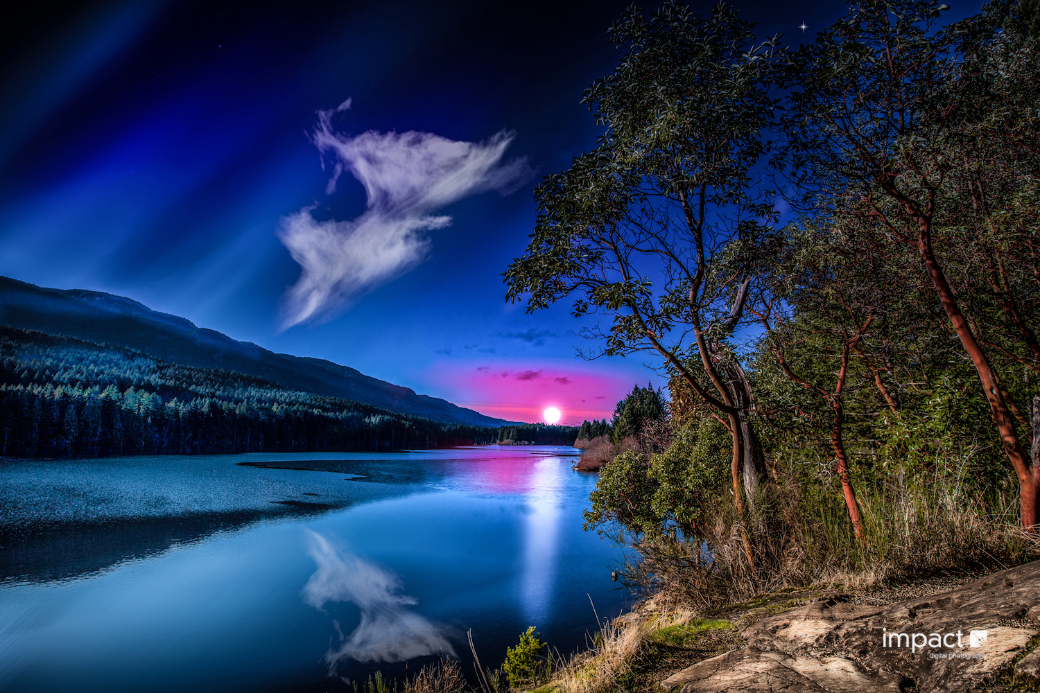 Photograph Evening at Westwood Lake by Mike Thompson on 500px