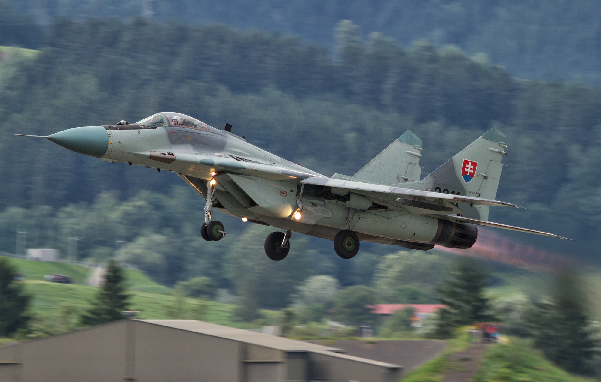 Photograph Airborne Mig 29 by Marc Muick on 500px