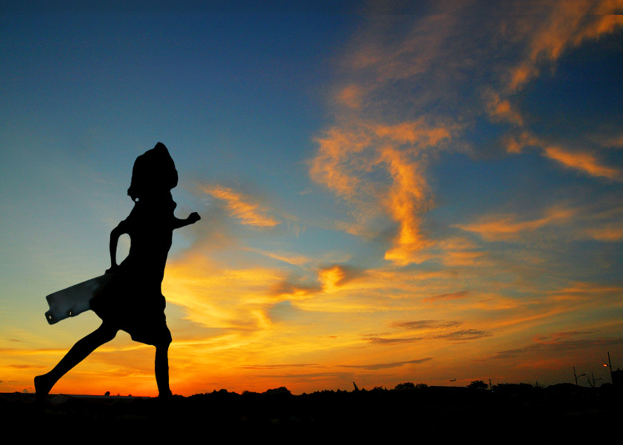 Photograph Sunset Dancer by Edi Wibowo on 500px