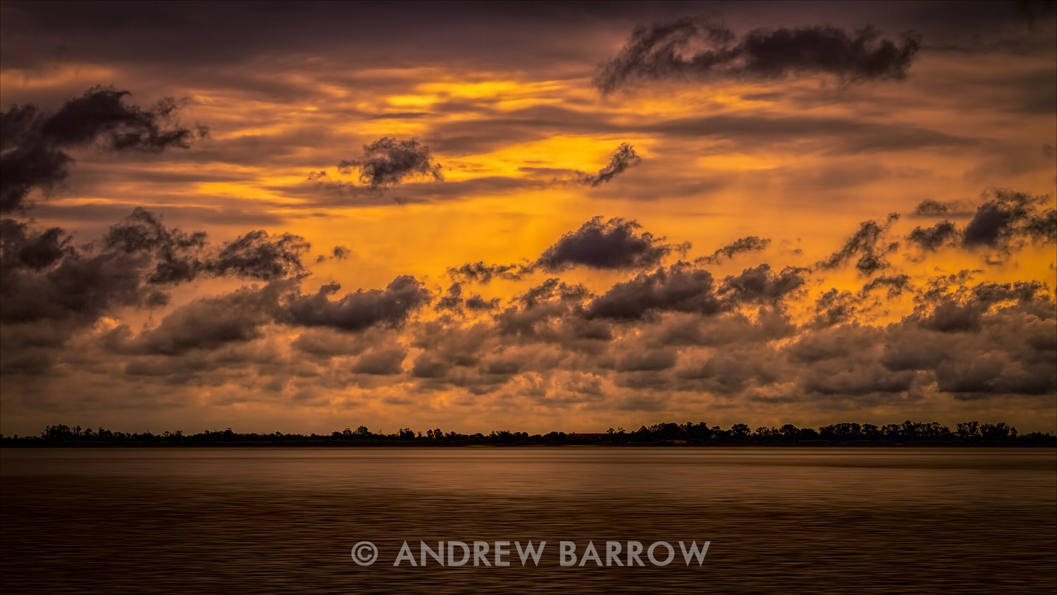 Photograph Orange Stained Evening by Andrew Barrow LRPS on 500px