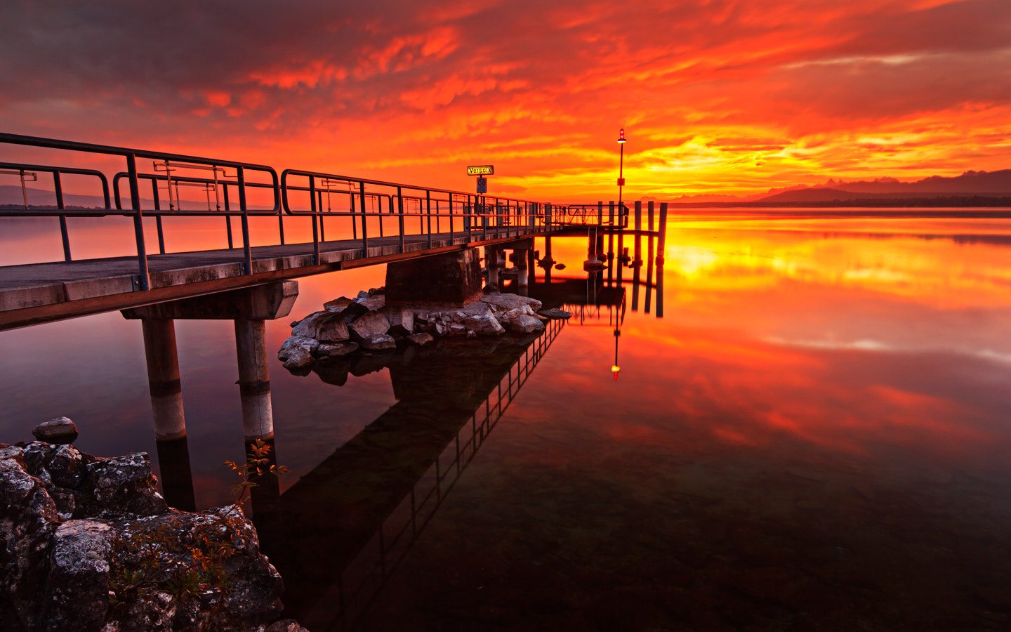 Photograph ... and fire in the sky by Dennis Hellmich on 500px