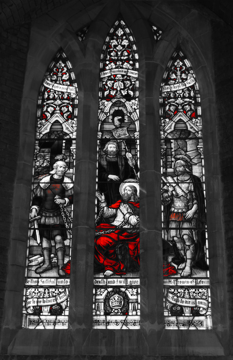 Photograph Jesus Stain Glass ! by Steve Wallace on 500px