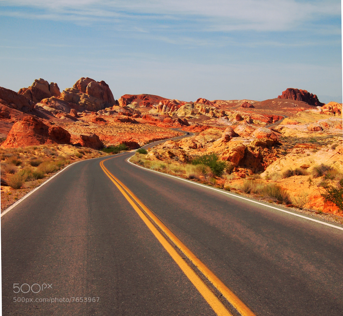 Photograph The Road by Eivind N on 500px