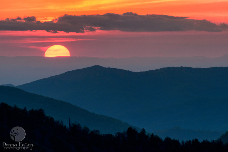 Photograph Morton's Sunset by Donna Eaton on 500px