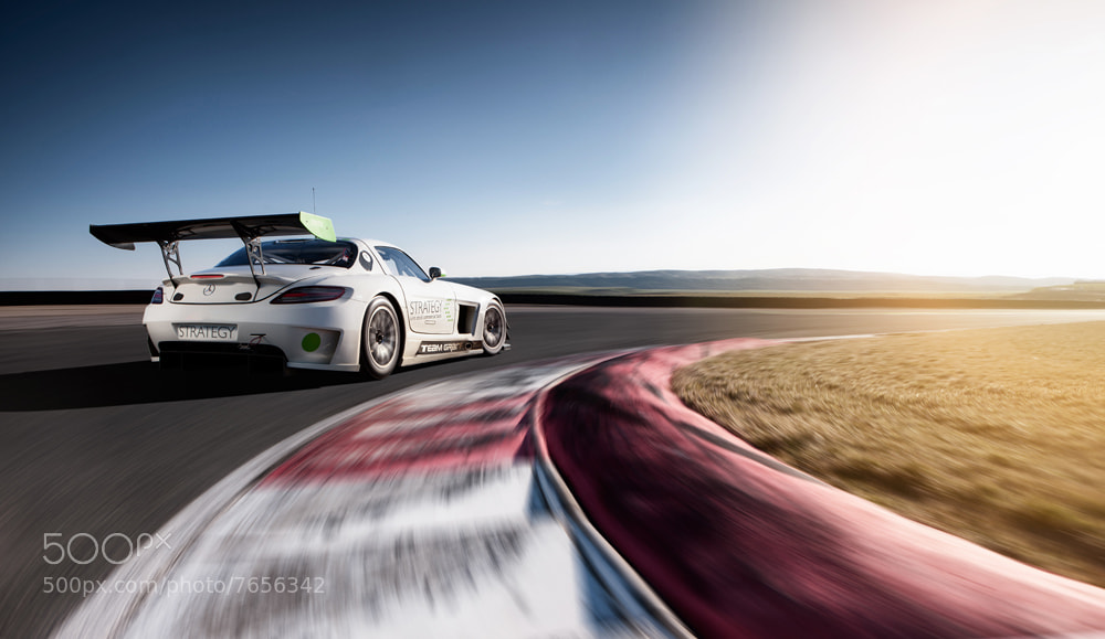 Photograph SLS AMG GT3 #2 by Sergey  Krestov on 500px