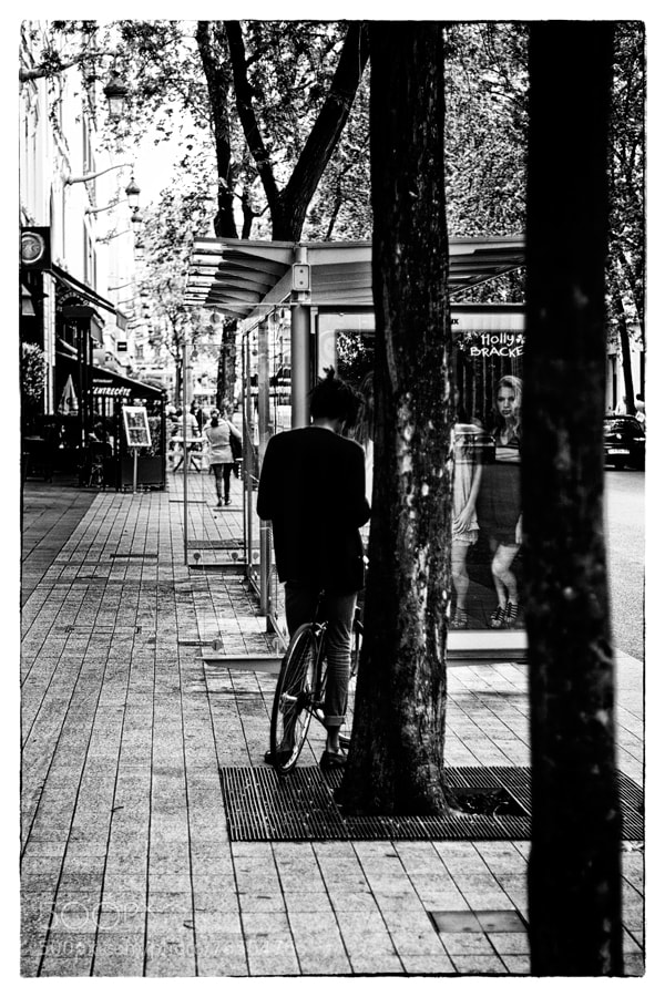 Photograph one man, one bike by Patrice Dornon on 500px