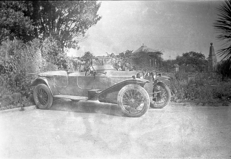 Photograph Vintage car - 1917 by Century of  Photography on 500px
