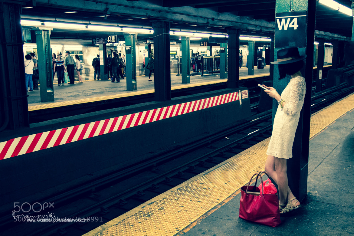 Photograph A girl at West 4th Street Station by Bobi Dojcinovski on 500px