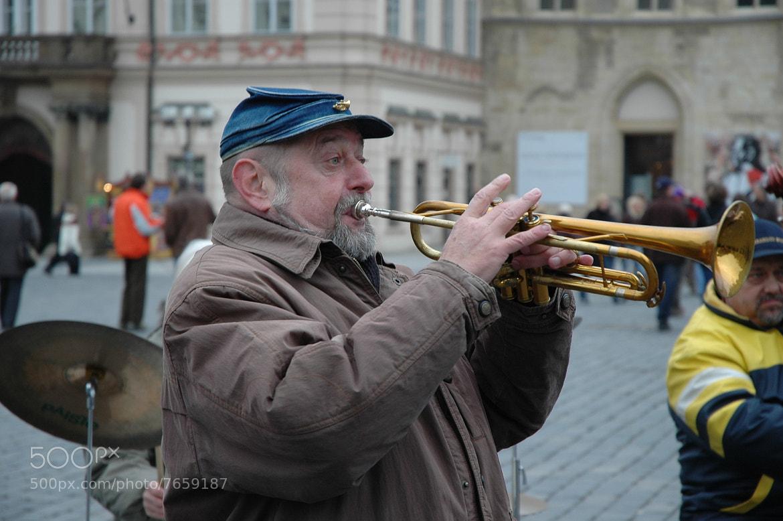 Photograph trumpetman by helmut flatscher on 500px