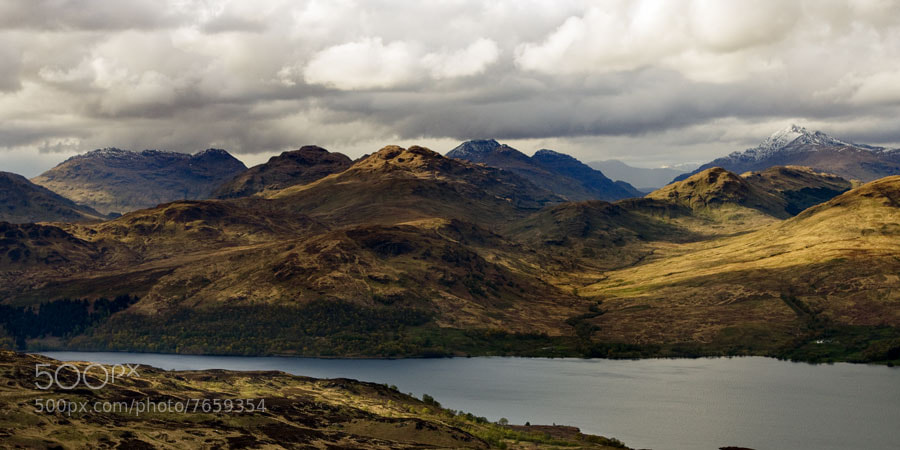 Photograph Looking North over Loch Katrine by Chris Jones on 500px