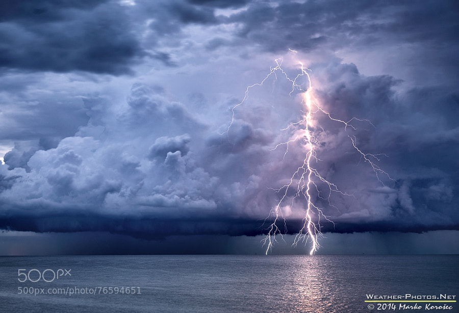 Photograph Bolt from the blue by Marko Korošec on 500px
