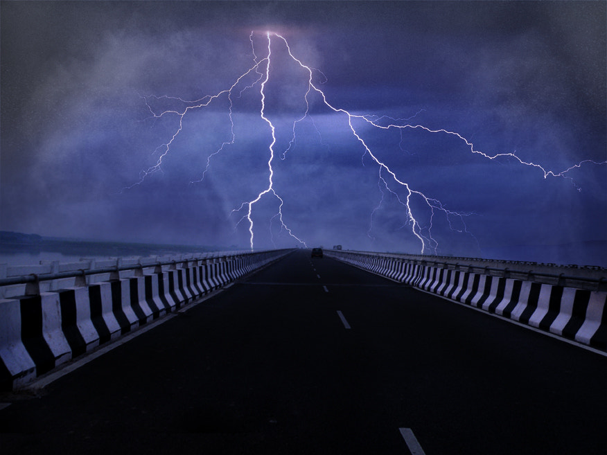 Photograph Lightning by Ankur  Tiwari on 500px